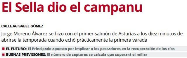 Captura de pantalla del diario El Comercio del 26/04/2015