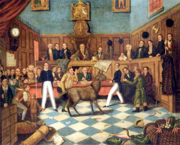 """Trial of Bill Burns"" by http://www.artnet.de/Artists/LotDetailPage.aspx?lot_id=EEB9F49FBA0F3AB1EB7B3E0ECCD55B3D. Licensed under Public Domain via Wikimedia Commons - http://commons.wikimedia.org/wiki/File:Trial_of_Bill_Burns.jpg#/media/File:Trial_of_Bill_Burns.jpg"